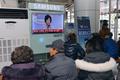 '지역 살리기냐 투기냐'…손혜원 기자회견 보는 시민들