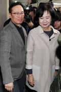 기자회견 마친 손혜원 '민주당 탈당'
