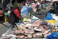 대한 추위, 썰렁한 전통시장