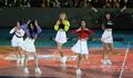 프로배구 올스타전 축하공연 펼치는 치어리더들