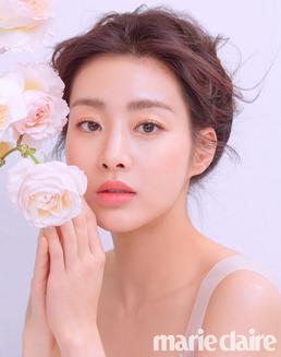 [N화보] 강소라, 한송이 꽃같은 미모 '우아+청순美'