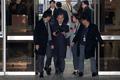 법원 문 나서는 박병대 전 대법관