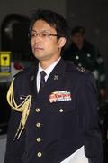 국방부 나서는 나가시마 토루 주한 일본 무관