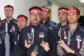 노사 협상 결렬 선언하는 윤병범 노조위원장
