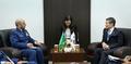 사우디 총참모장과 양자회담하는 정경두 국방부 장관