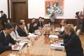 세르비아 알렉산다르 부치치 대통령과 면담하는 문희상 국회의장