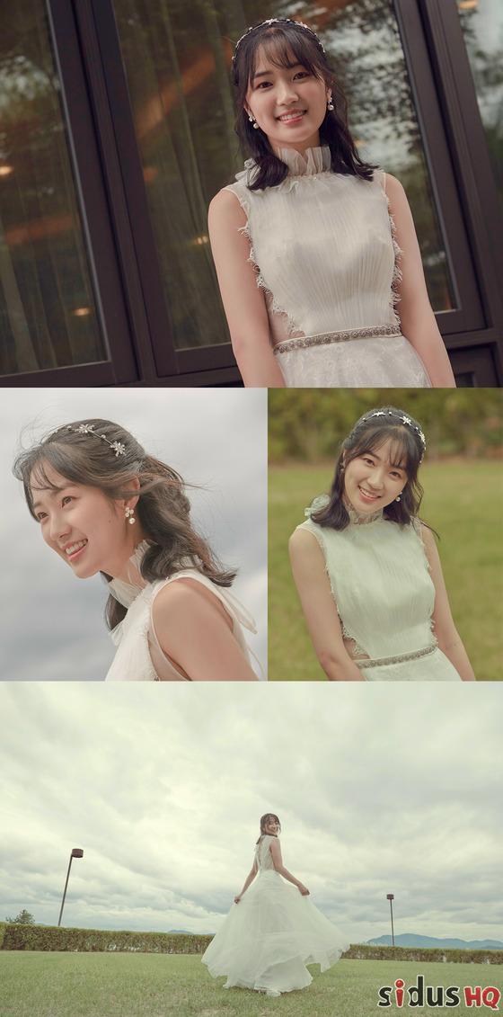 '어쩌다 발견한 하루' 김혜윤, 교복 벗고 '단아' 드레스 자태