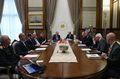 [사진] 마주앉은 美-터키 고위 협상단
