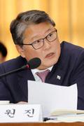 [국감] 질의하는 조원진 우리공화당 의원