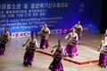 2019 아시아 유소년·주니어 역도선수권 개막 축하공연 펼치는 북측