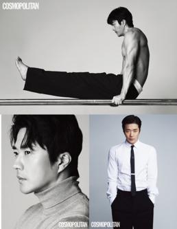 권상우, 상의 탈의 화보 공개...탄탄 근육