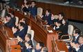 자유한국당, 대통령 시정연설에 '엑스'