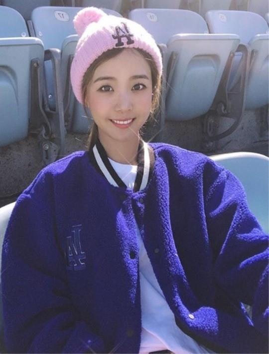 '류현진♥' 배지현, 임신 중 근황…미소 속 여전한 미모