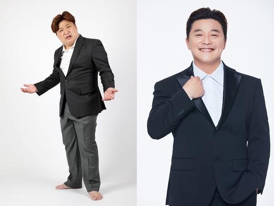윤정수, '연애의맛3' 출연 앞두고 8kg 감량…비포&애프터 보니