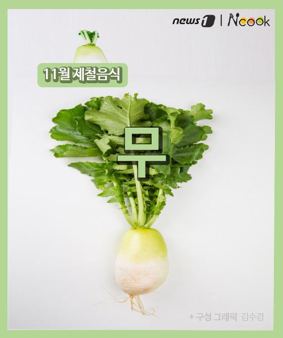 [카드뉴스][이달N쿡] 11월 제철음식 '무' 맛있게 즐기는 법