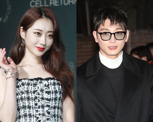 """'가요 선후배' 정진운·경리, 열애설…미스틱 """"확인 중"""""""