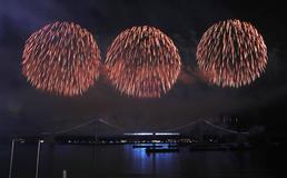 밤 바다 수놓은 부산불꽃축제