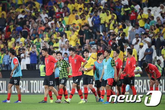 벤투호, 브라질에 0:3 패배 \'삼바군단 벽 높았다\'