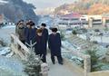 北노동당 중앙위 간부들, 준공식 마친 양덕온천문화휴양지 참관