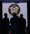본회의장 들어가는 민주당 의원들