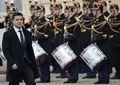 [사진] 엘리제궁 도착하는 젤렌스키 우크라 대통령