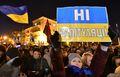 """[사진] 우크라 시민들 """"러시아와는 화해도 항복도 말라"""""""