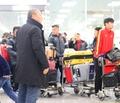 베트남 U-23대표팀 살피는 박항서