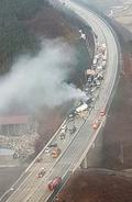 '차량 수십대 추돌 이어 화재' 마비된 상주-영천고속도로