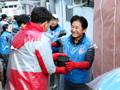 사랑의 연탄 나눔 행사 참석한 박종문 헌법재판소 사무처장