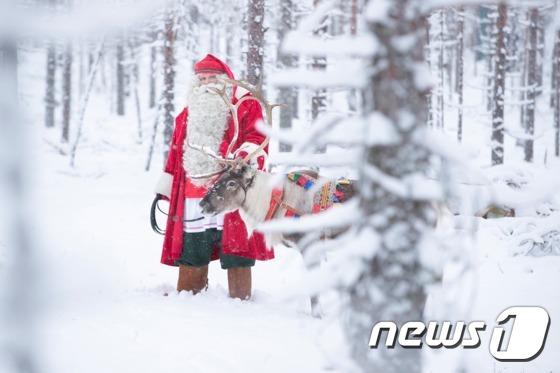 핀란드에서 온 진짜 산타클로스, 롯데아울렛 부여점 방문