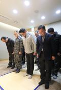 '소방헬기 실종자 수색 종료' 희생자 조문하는 범정부현장수습지원단