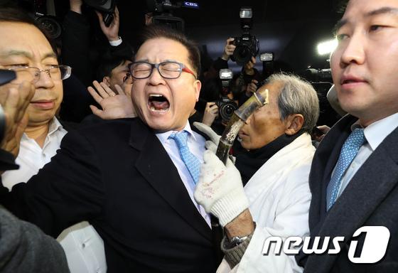 5.18 단체 \'자유한국당 5.18 망언 사죄하라\'\'