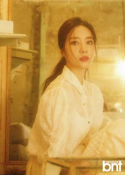 """[N화보] 레인보우 출신 노을 """"데뷔 후 생계 고민...아르바이트 병행했다"""""""