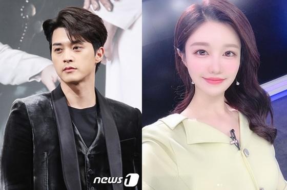 """[공식입장] 김지훈 측 """"윤호연 아나운서와 열애 NO…친한 사이"""""""