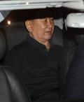 차량 타고 나서는 김창선 北 국무위원회 부장