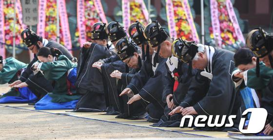2019 춘기 석전대제 '경건한 마음으로'