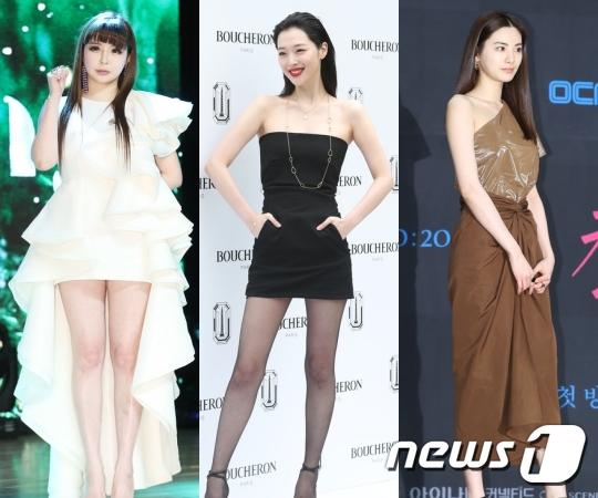 박봄·설리·나나, 10년 지나도 여전한  미모