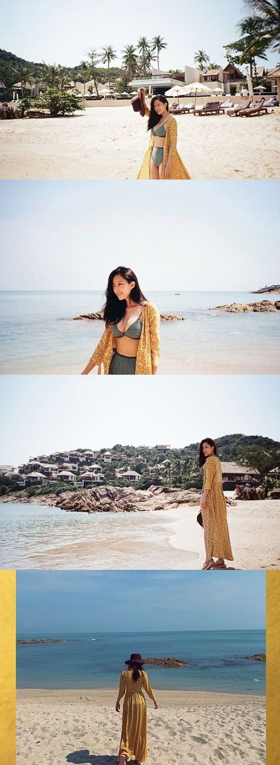 효민, 3월의 비키니…해변에서 뽐낸 섹시美