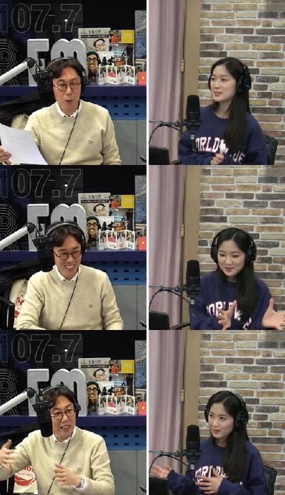 """'파워FM' 김혜윤 """"김서형, '심은하와 닮았다'고…언급 영광"""""""