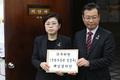 정경두 국방부 장관 해임결의안 제출하는 자유한국당