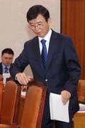 청문회 모두발언 마친 문성혁 해수부 장관 후보자