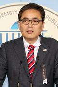 김학의 전 차관 별장 성접대 의혹 관련 기자회견 갖는 곽상도 의원