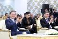 투르크메니스탄 가스화학 플랜트 찾은 문 대통령