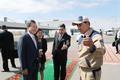 투르크메니스탄  키얀리 가스화학 플랜트 둘러보는 문 대통령