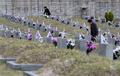 4.19 59주년... 묘비 찾은 유가족들