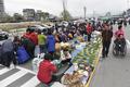 북적이는 원주 농업인새벽시장