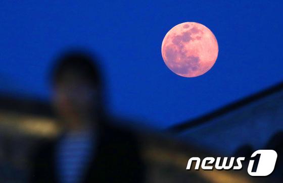 \'핑크빛 달이 떴어요\'