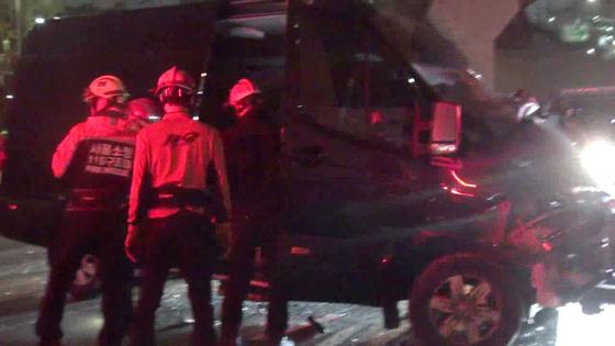 그룹 머스트비 올림픽대로서 교통사고…운전하던 매니저 사망