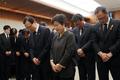 민주당 지도부, 고 김홍일 전 의원 빈소 찾아 조문
