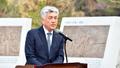사북민주항쟁 기념식에 참석한 최승준 정선군수